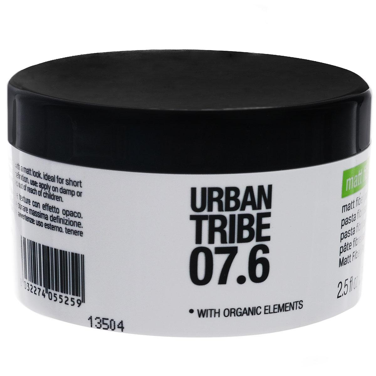 URBAN TRIBE Матирующая паста для придания объема 75 мл.55259Матирующая паста. Придает объем и текстуру, обеспечивает матовость.