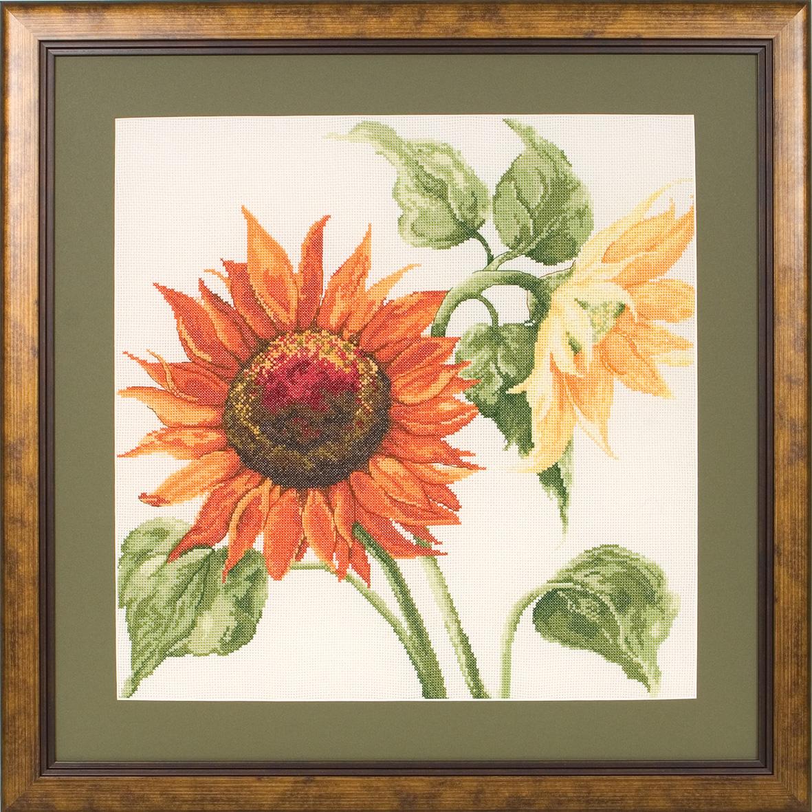 Набор для вышивания Maia Sunshine 2 - Sunflowers /Солнечный свет 2. Подсолнухи/ 35*35см (состав: канва Aida 16, цветная схема, нитки Anchor, игла, инструкция), счетный крест5678000-01006Набор для вышивания Maia Sunshine 2 - Sunflowers /Солнечный свет 2. Подсолнухи/ 35*35см (состав: канва Aida 16, цветная схема, нитки Anchor, игла, инструкция), счетный крест