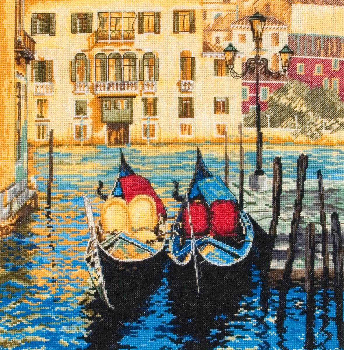 Набор для вышивания Maia Venice /Венеция/ 30*30см (состав: канва Aida 16, цветная схема, нитки Anchor, игла, инструкция), счетный крест5678000-01098Набор для вышивания Maia Venice /Венеция/ 30*30см (состав: канва Aida 16, цветная схема, нитки Anchor, игла, инструкция), счетный крест