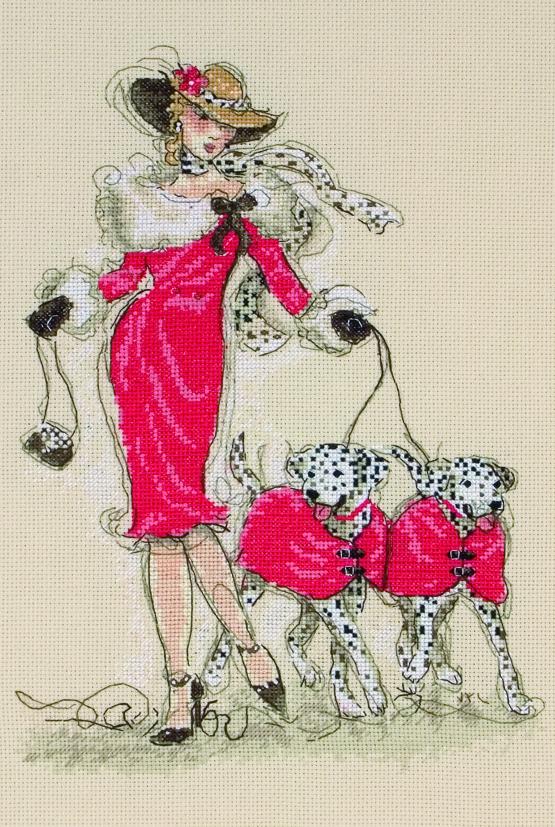 Набор для вышивания Maia Dancing Dalmatians /Танцующие далматинцы/ 30*20см (состав: канва Aida 16, цветная схема, нитки Anchor, игла, инструкция), счетный крест5678000-01143Набор для вышивания Maia Dancing Dalmatians /Танцующие далматинцы/ 30*20см (состав: канва Aida 16, цветная схема, нитки Anchor, игла, инструкция), счетный крест