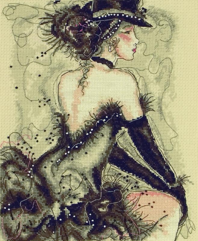 Набор для вышивания Maia My Fair Lady /Моя прекрасная леди/ 25*20см (состав: канва Aida 16, цветная схема, нитки Anchor, игла, инструкция), счетный крест5678000-01147Набор для вышивания Maia My Fair Lady /Моя прекрасная леди/ 25*20см (состав: канва Aida 16, цветная схема, нитки Anchor, игла, инструкция), счетный крест