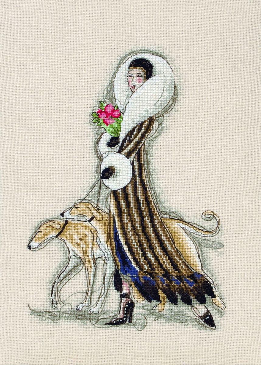 Набор для вышивания Maia Femme Fatale /Роковая женщина/ 30*20см (состав: канва Aida 16, цветная схема, нитки Anchor, игла, инструкция), счетный крест¶5678000-01168Набор для вышивания Maia Femme Fatale /Роковая женщина/ 30*20см (состав: канва Aida 16, цветная схема, нитки Anchor, игла, инструкция), счетный крест¶