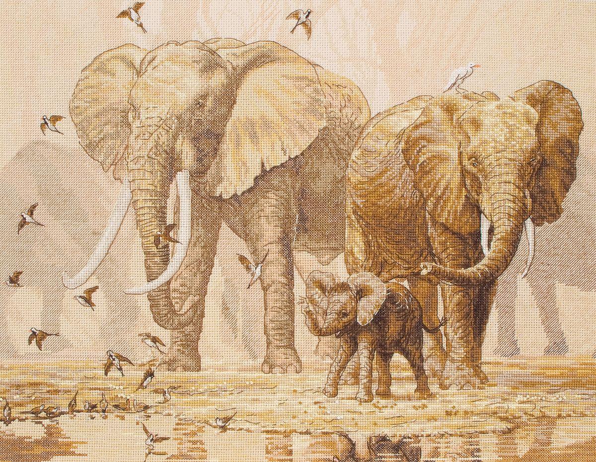 ����� ��� ��������� Maia African Elephants And Namaqua Doves /����������� ����� � ������� �������/ 30*40�� (������: ����� Aida 16, ������� �����, ����� Anchor, ����, ����������), ������� ����� - Coats5678000-01197����� ��� ��������� Maia African Elephants And Namaqua Doves /����������� ����� � ������� �������/ 30*40�� (������: ����� Aida 16, ������� �����, ����� Anchor, ����, ����������), ������� �����