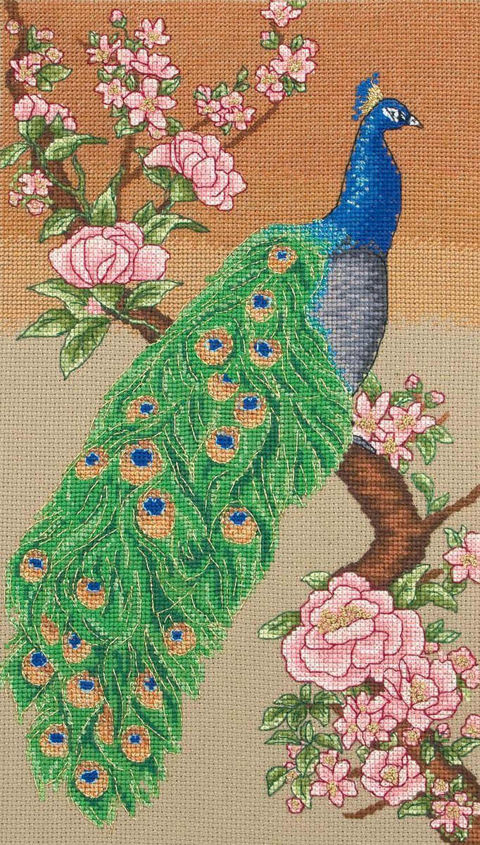 Набор для вышивания Maia Majestic Peacock /Величественный павлин/ 30*17см (состав: канва Aida 16, цветная схема, нитки Anchor, игла, инструкция), счетный крест5678000-01208Набор для вышивания Maia Majestic Peacock /Величественный павлин/ 30*17см (состав: канва Aida 16, цветная схема, нитки Anchor, игла, инструкция), счетный крест