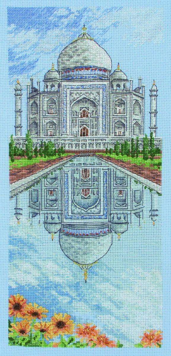 Набор для вышивания Anchor The Taj Mahal /Тадж-Махал/ 32*14см (состав: канва Aida 16, цветная схема, нитки Anchor, игла, инструкция), счетный крестPCE0804Набор для вышивания Anchor The Taj Mahal /Тадж-Махал/ 32*14см (состав: канва Aida 16, цветная схема, нитки Anchor, игла, инструкция), счетный крест