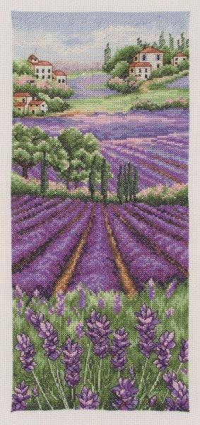 Набор для вышивания Anchor Provence Lavender Scape /Лавандовое поле/ 32*14см (состав: канва Aida 16, цветная схема, нитки Anchor, игла, инструкция), счетный крестPCE0807Набор для вышивания Anchor Provence Lavender Scape /Лавандовое поле/ 32*14см (состав: канва Aida 16, цветная схема, нитки Anchor, игла, инструкция), счетный крест