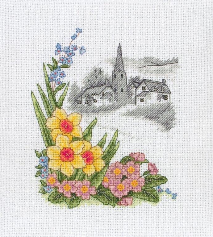 ����� ��� ��������� Anchor Spring Days /�������� ���/ 19,5*16,5�� (������: ����� Aida 14, ������� �����, ����� Anchor, ����, ����������), ������� ����� - CoatsPCE560����� ��� ��������� Anchor Spring Days /�������� ���/ 19,5*16,5�� (������: ����� Aida 14, ������� �����, ����� Anchor, ����, ����������), ������� �����