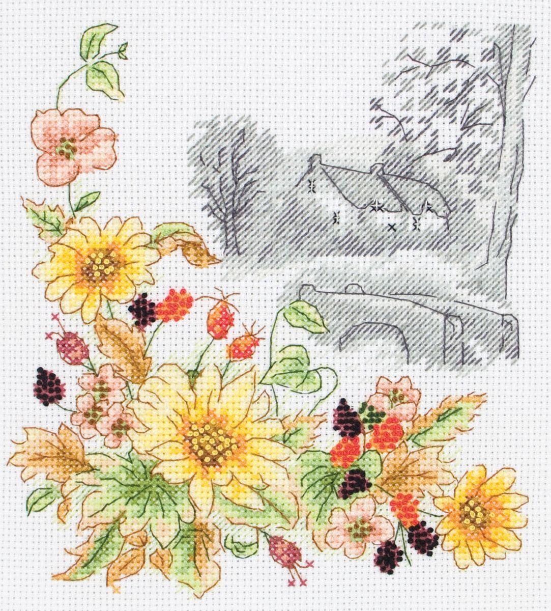 Набор для вышивания Anchor Autumn Days /Осенние дни/ 19,5*16,5см (состав: канва Aida 14, цветная схема, нитки Anchor, игла, инструкция), счетный крестPCE597Набор для вышивания Anchor Autumn Days /Осенние дни/ 19,5*16,5см (состав: канва Aida 14, цветная схема, нитки Anchor, игла, инструкция), счетный крест