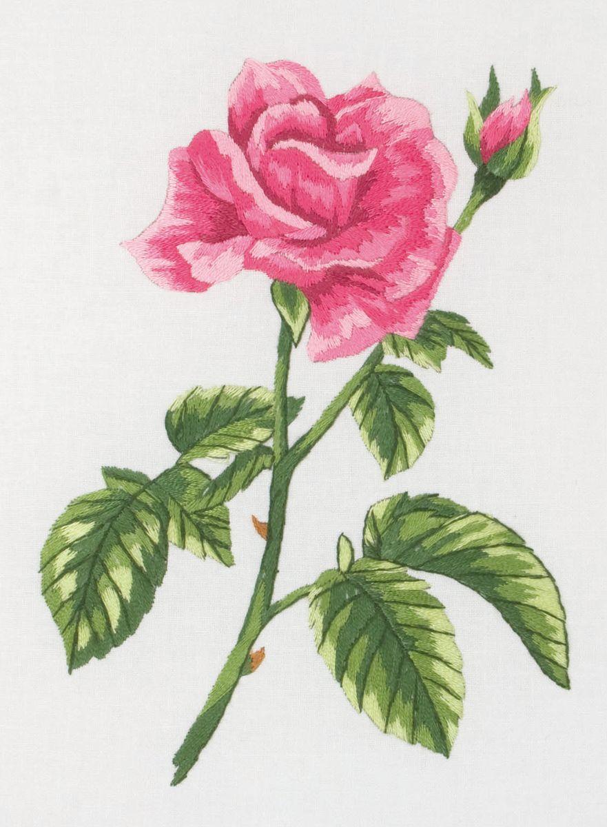 Набор для вышивания Anchor Rose /Роза/ 20*15см (состав: канва, цветная схема, нитки Anchor, игла, инструкция), гладьPE655Набор для вышивания Anchor Rose /Роза/ 20*15см (состав: канва, цветная схема, нитки Anchor, игла, инструкция), гладь