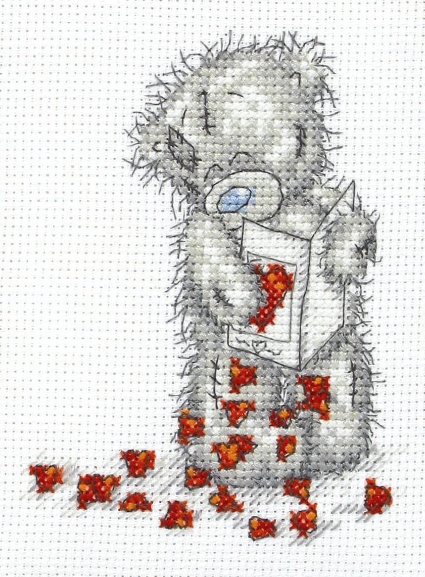 Набор для вышивания Anchor Little Hearts /Маленькие сердца/ 11*8см (состав: канва Aida 14, цветная схема, нитки Anchor, игла, инструкция), счетный крестTT12Набор для вышивания Anchor Little Hearts /Маленькие сердца/ 11*8см (состав: канва Aida 14, цветная схема, нитки Anchor, игла, инструкция), счетный крест