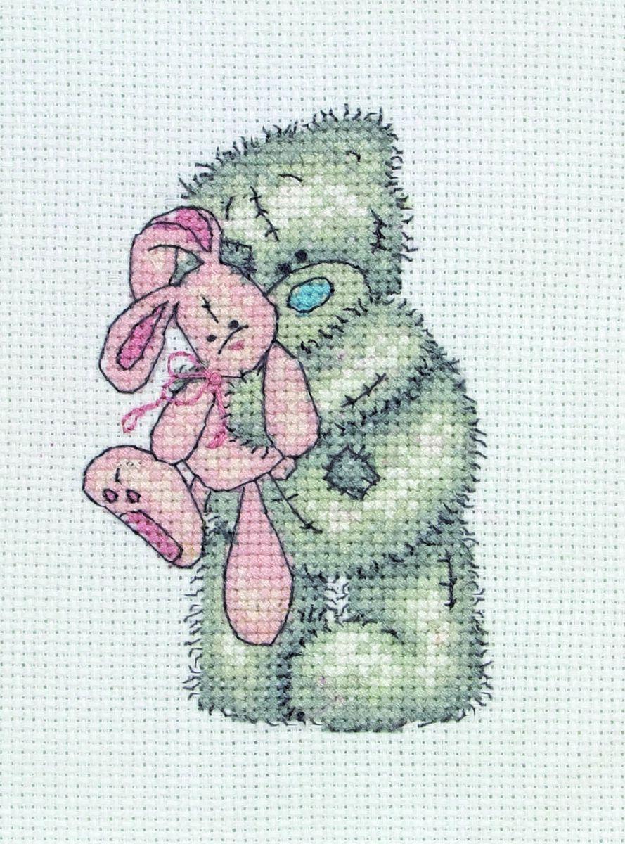 Набор для вышивания Anchor Pink Rabbit /Розовый кролик/ 11*8см (состав: канва Aida 14, цветная схема, нитки Anchor, игла, инструкция), счетный крестTT38Набор для вышивания Anchor Pink Rabbit /Розовый кролик/ 11*8см (состав: канва Aida 14, цветная схема, нитки Anchor, игла, инструкция), счетный крест