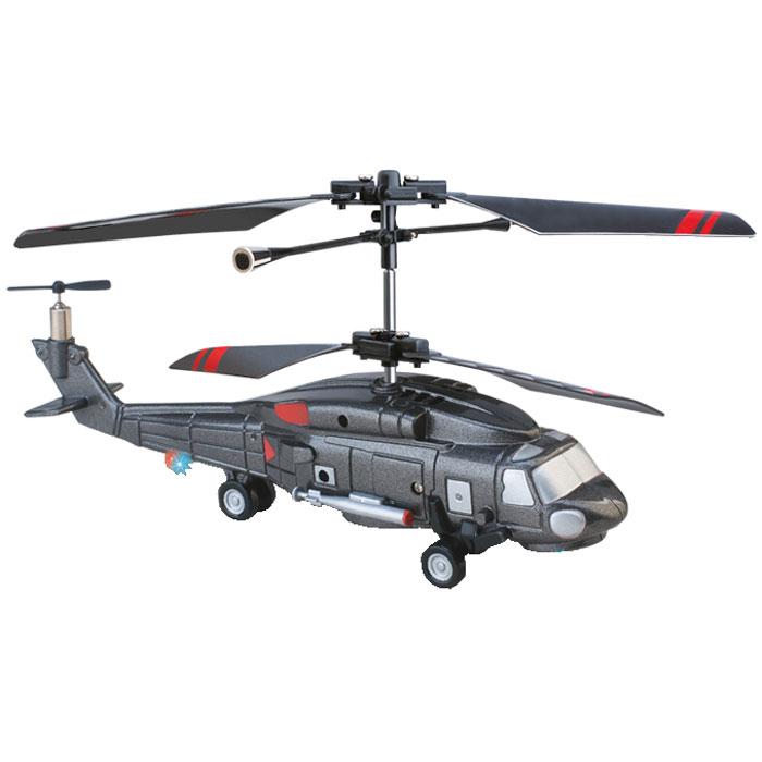 1TOY Вертолет на радиоуправлении Gyro-133Т54514Радиоуправляемая модель 1toy Gyro-133 со световыми эффектами оснащена встроенным гироскопом, который поможет скорректировать и устранить нежелательные вращения корпуса вертолета, благодаря чему сохранится высокая устойчивость полета, и пропорциональным триммером для выравнивания полета. Прежде чем запустить вертолет, его сначала нужно самостоятельно собрать, что поможет вам разобраться в устройстве и принципах функционирования вертолетов Gyro (в комплект входят все необходимые запчасти и инструменты, а также схема сборки). Каркас вертолета выполнен из пластика с использованием металла и отличается высокой детализацией. Особенности вертолета Gyro-133: Миниатюрный дизайн вертолета идеально подходит для игры внутри помещения; Четкий инфракрасный сигнал широкого радиуса действия; Улучшенный литий-полимерный аккумулятор; Движение вертолета во всех направлениях, полет восьмеркой и по кругу; Устойчивость в полете; Три...
