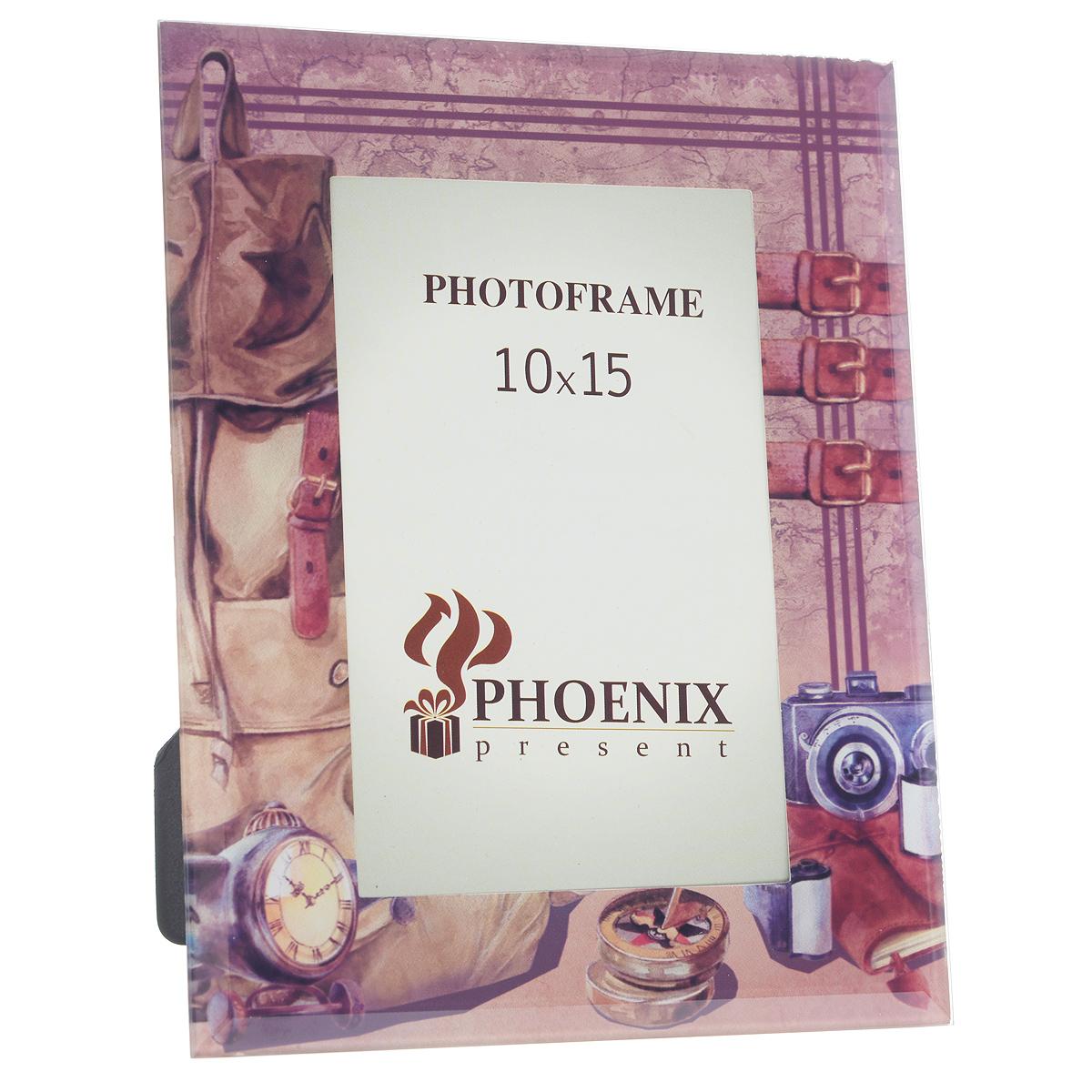 "Фоторамка Феникс-презент ""Путешественник"", 10 см х 15 см"