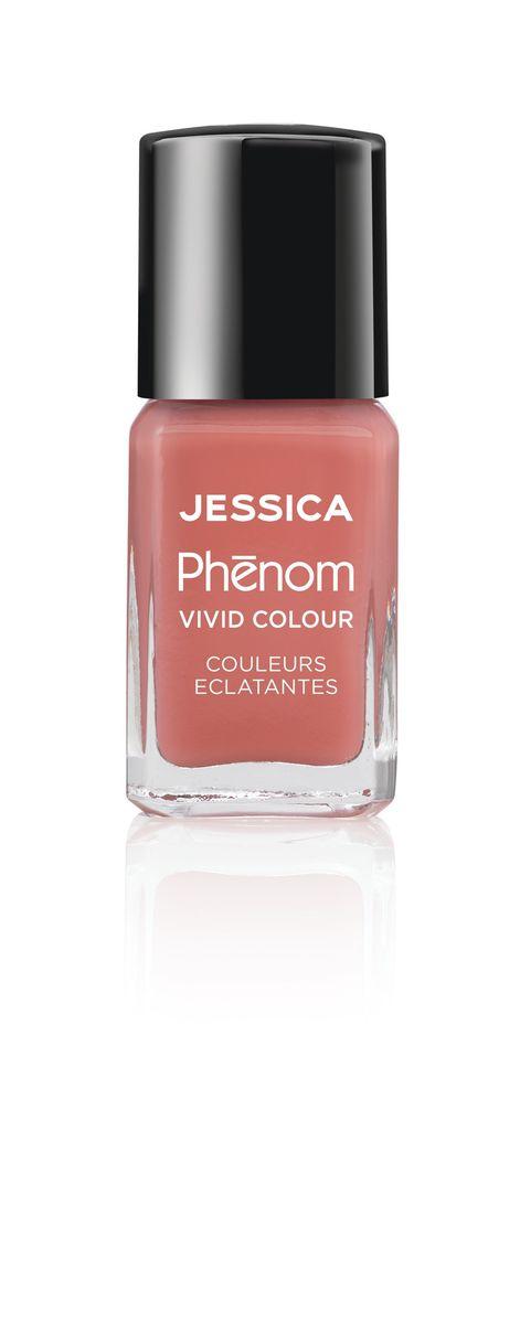 "Jessica Phenom Лак для ногтей Vivid Colour ""Rare Rose"" № 06, 15 мл"