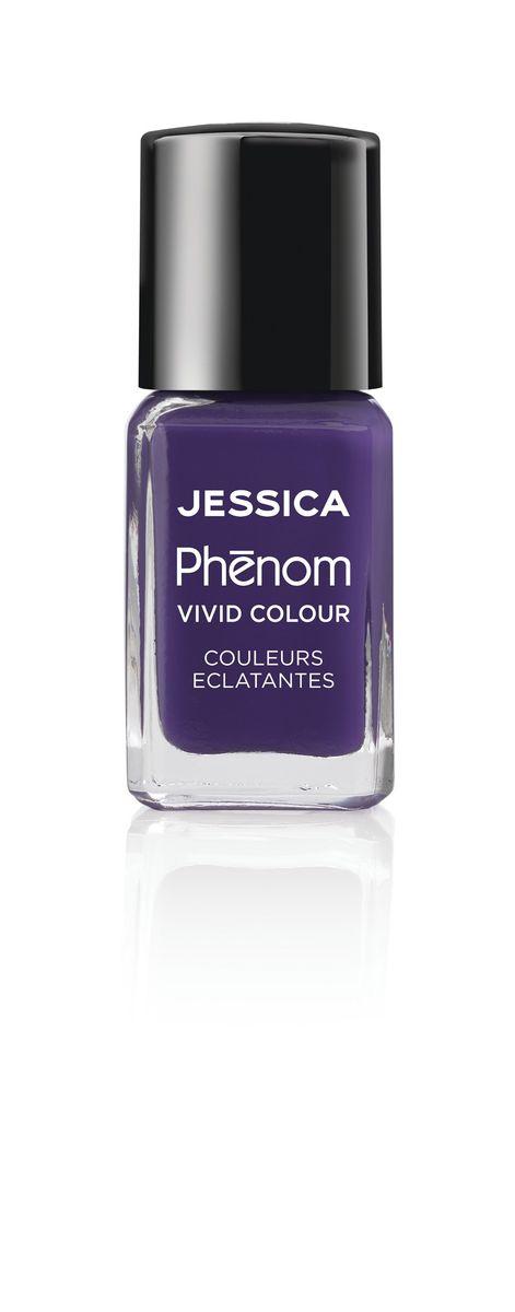 Jessica Phenom Лак для ногтей Vivid Colour Grape Gatsby № 12, 15 млPHEN-012Система покрытия ногтей Phenom обеспечивает быстрое высыхание, обладает стойкостью до 10 дней и имеет блеск гель-лака. Не нуждается в использовании LED/UV ламп. Легко удаляется, как обычный лак для ногтей. Покрытия JESSICA Phenom являются 5-Free и не содержат формальдегид, формальдегидных смол, толуола, дибутилфталат и камфору. Как наносить: Система Phenom – это великолепный маникюр за 1-2-3 шага: ШАГ 1: Базовое покрытие – нанесите в два слоя базовое средство JESSICA, подходящее Вашему типу ногтевой пластины. ШАГ 2: Цвет – нанесите в два слоя любой оттенок Phenom Vivid Colour. ШАГ 3: Закрепление – нанесите в один слой Phenom Finale Shine Topcoat для получения блеска гель-лака.
