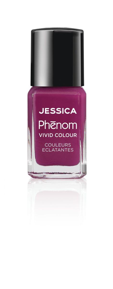 Jessica Phenom Лак для ногтей Vivid Colour Lap of Luxury № 18, 15 млPHEN-018Система покрытия ногтей Phenom обеспечивает быстрое высыхание, обладает стойкостью до 10 дней и имеет блеск гель-лака. Не нуждается в использовании LED/UV ламп. Легко удаляется, как обычный лак для ногтей. Покрытия JESSICA Phenom являются 5-Free и не содержат формальдегид, формальдегидных смол, толуола, дибутилфталат и камфору. Как наносить: Система Phenom – это великолепный маникюр за 1-2-3 шага: ШАГ 1: Базовое покрытие – нанесите в два слоя базовое средство JESSICA, подходящее Вашему типу ногтевой пластины. ШАГ 2: Цвет – нанесите в два слоя любой оттенок Phenom Vivid Colour. ШАГ 3: Закрепление – нанесите в один слой Phenom Finale Shine Topcoat для получения блеска гель-лака.
