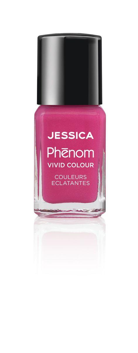 Jessica Phenom Лак для ногтей Vivid Colour Barbie Pink № 20, 15 млPHEN-020Система покрытия ногтей Phenom обеспечивает быстрое высыхание, обладает стойкостью до 10 дней и имеет блеск гель-лака. Не нуждается в использовании LED/UV ламп. Легко удаляется, как обычный лак для ногтей. Покрытия JESSICA Phenom являются 5-Free и не содержат формальдегид, формальдегидных смол, толуола, дибутилфталат и камфору. Как наносить: Система Phenom – это великолепный маникюр за 1-2-3 шага: ШАГ 1: Базовое покрытие – нанесите в два слоя базовое средство JESSICA, подходящее Вашему типу ногтевой пластины. ШАГ 2: Цвет – нанесите в два слоя любой оттенок Phenom Vivid Colour. ШАГ 3: Закрепление – нанесите в один слой Phenom Finale Shine Topcoat для получения блеска гель-лака.