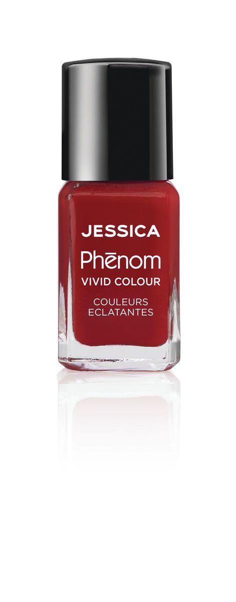 Jessica Phenom Лак для ногтей Vivid Colour Jessica Red № 21, 15 млPHEN-021Система покрытия ногтей Phenom обеспечивает быстрое высыхание, обладает стойкостью до 10 дней и имеет блеск гель-лака. Не нуждается в использовании LED/UV ламп. Легко удаляется, как обычный лак для ногтей. Покрытия JESSICA Phenom являются 5-Free и не содержат формальдегид, формальдегидных смол, толуола, дибутилфталат и камфору. Как наносить: Система Phenom – это великолепный маникюр за 1-2-3 шага: ШАГ 1: Базовое покрытие – нанесите в два слоя базовое средство JESSICA, подходящее Вашему типу ногтевой пластины. ШАГ 2: Цвет – нанесите в два слоя любой оттенок Phenom Vivid Colour. ШАГ 3: Закрепление – нанесите в один слой Phenom Finale Shine Topcoat для получения блеска гель-лака.