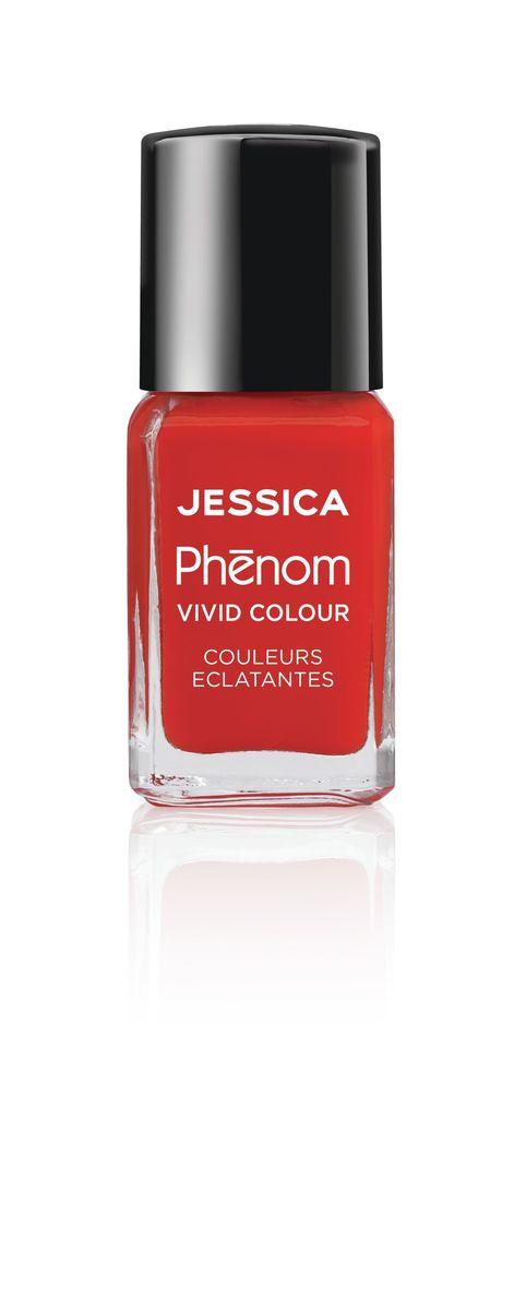 Jessica Phenom Лак для ногтей Vivid Colour Geisha Girl № 22, 15 млPHEN-022Система покрытия ногтей Phenom обеспечивает быстрое высыхание, обладает стойкостью до 10 дней и имеет блеск гель-лака. Не нуждается в использовании LED/UV ламп. Легко удаляется, как обычный лак для ногтей. Покрытия JESSICA Phenom являются 5-Free и не содержат формальдегид, формальдегидных смол, толуола, дибутилфталат и камфору. Как наносить: Система Phenom – это великолепный маникюр за 1-2-3 шага: ШАГ 1: Базовое покрытие – нанесите в два слоя базовое средство JESSICA, подходящее Вашему типу ногтевой пластины. ШАГ 2: Цвет – нанесите в два слоя любой оттенок Phenom Vivid Colour. ШАГ 3: Закрепление – нанесите в один слой Phenom Finale Shine Topcoat для получения блеска гель-лака.