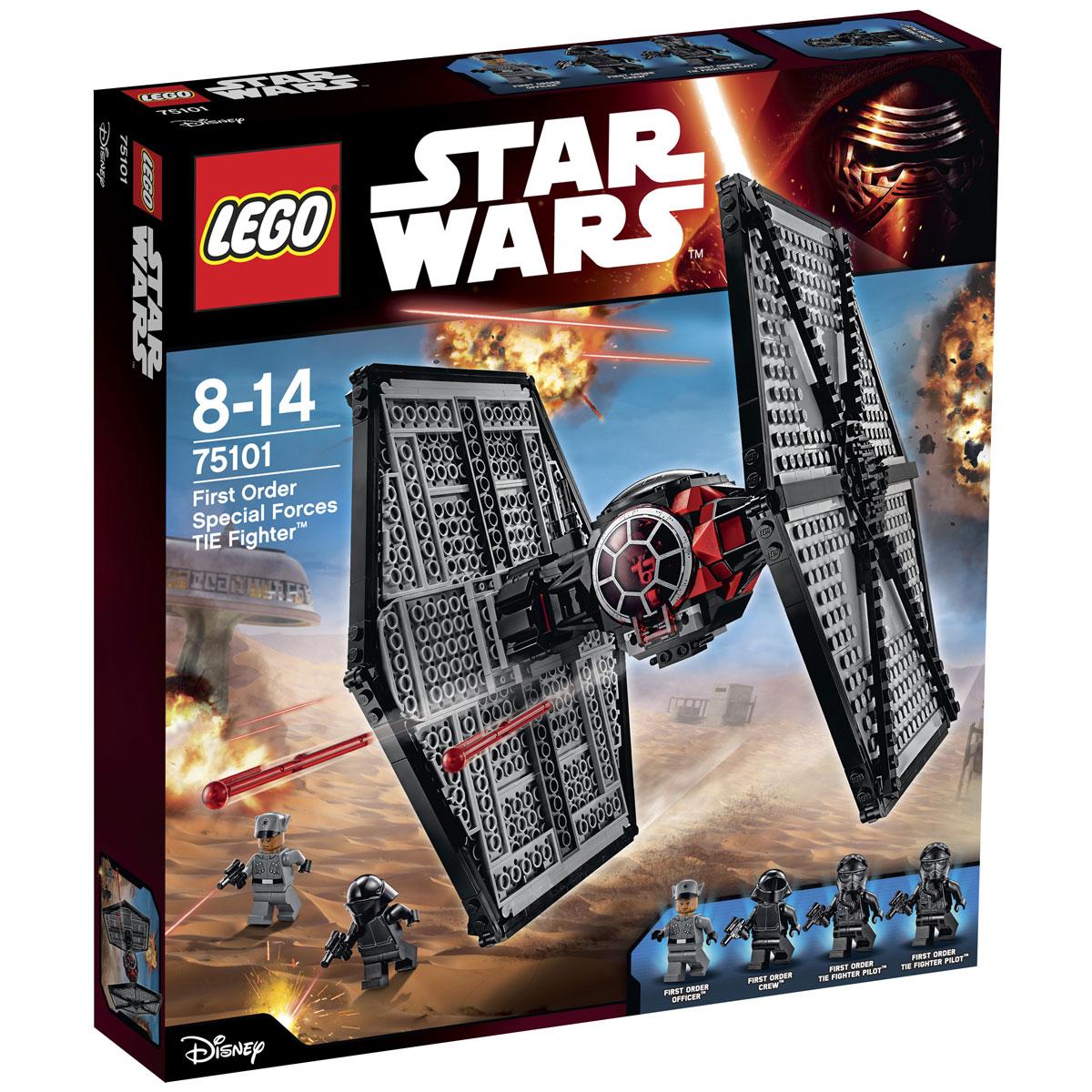 LEGO Star Wars Конструктор Истребитель особых войск Первого Ордена 75101