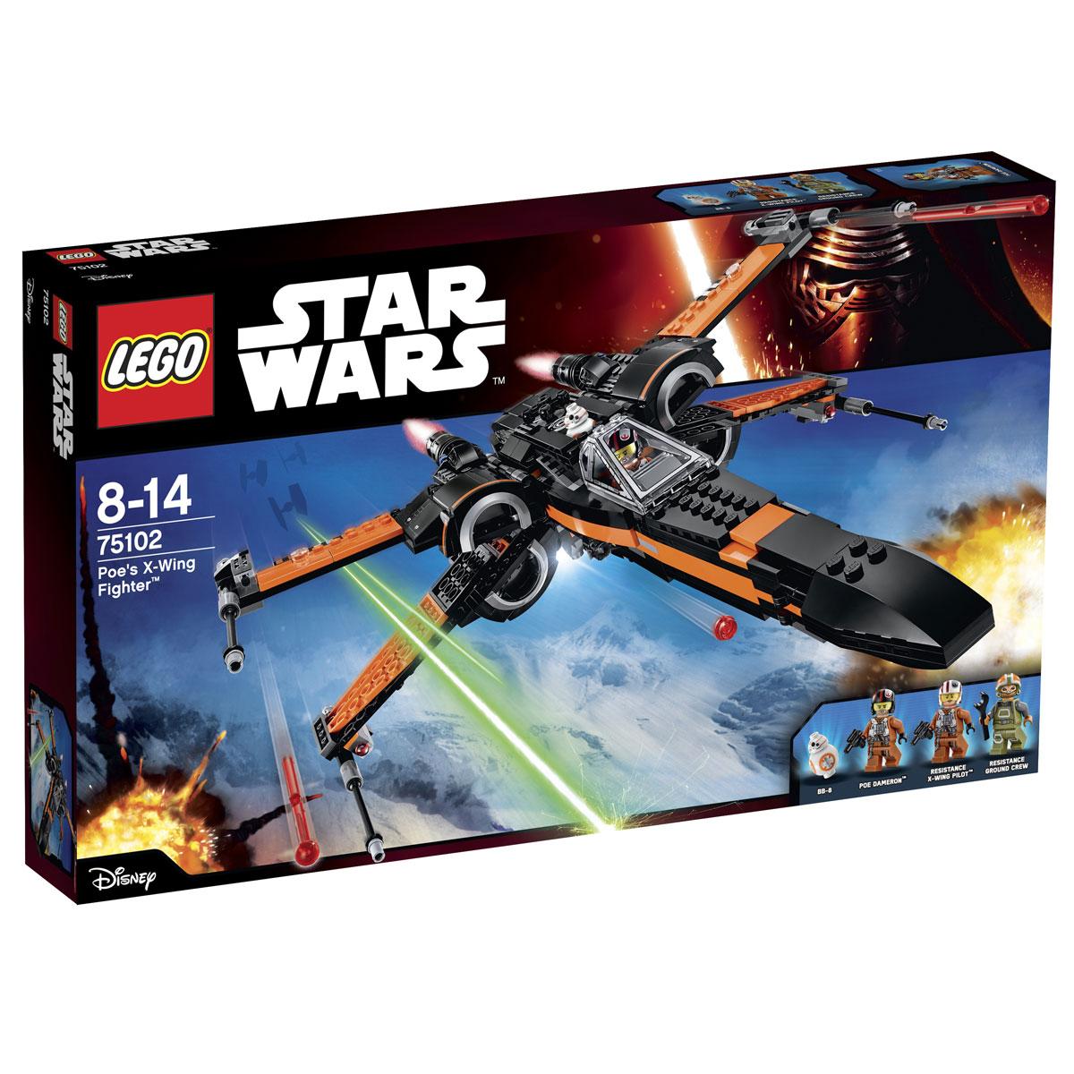 LEGO Star Wars Конструктор Истребитель По 75102