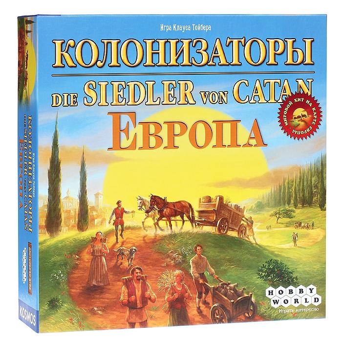 Hobby World Настольная игра Колонизаторы Европа ( 1134 )