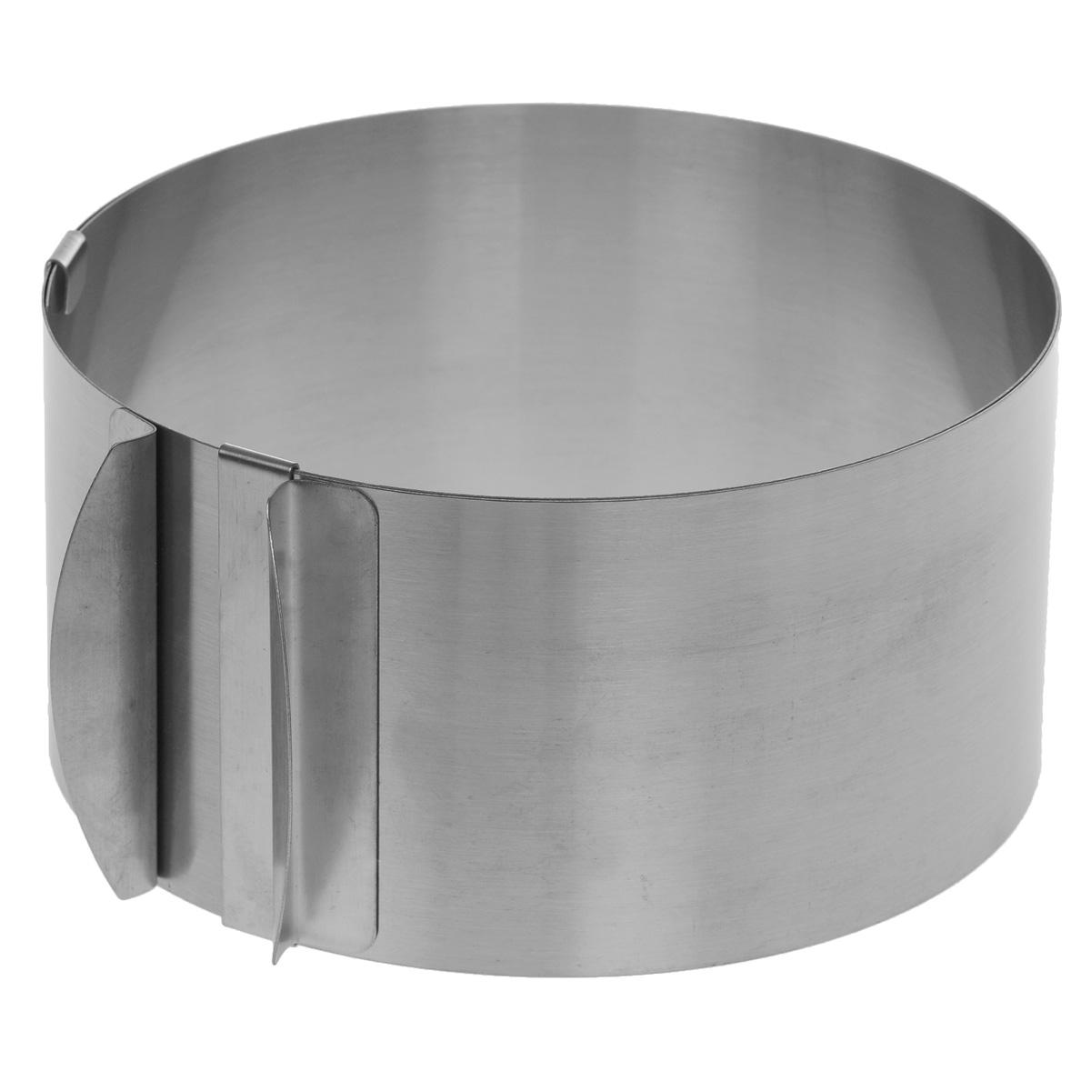 Форма для сборки тортов,салатов, закусок, десертов Cake Mould, раздвижная, диаметр 16-30 смSL-PJ028Форма для сборки тортов, салатов, закусок, десертов Cake Mould выполнена из высококачественной нержавеющей стали. Отличительной особенностью данной формы является раздвижная конструкция, благодаря которой форма может изменять диаметр от 16 см до 30 см. На внутренней стенке имеется шкала с диаметрами. Такая форма станет незаменимым помощником на вашей кухне. Можно мыть в посудомоечной машине. Диаметр формы: 16-30 см. Высота стенок: 8,5 см. * Победитель номинации «Лучшая собственная торговая марка в сегменте ONLINE» Премия PRIVATE LABEL AWARDS (by IPLS) —международная премия в области собственных торговых марок, созданная компанией Reed Exhibitions в рамках выставки «Собственная Торговая Марка» (IPLS) 2016 с целью поощрения розничных сетей, а также производителей продовольственных и непродовольственных товаров за их вклад в развитие качественных товаров private label, которые способствуют росту уровня покупательского доверия в России и...