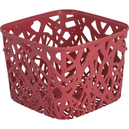 Корзинка Curver Ecolife, цвет: красный, 19,2 х 19,2 х 14,4 см4160_красныйКвадратная корзинка Curver Ecolife изготовлена из высококачественного пластика. Предназначена для хранения различных предметов в ванной, на кухне, на даче или в гараже. Стенки корзины оформлены изящной перфорацией, обеспечивающей естественную вентиляцию.