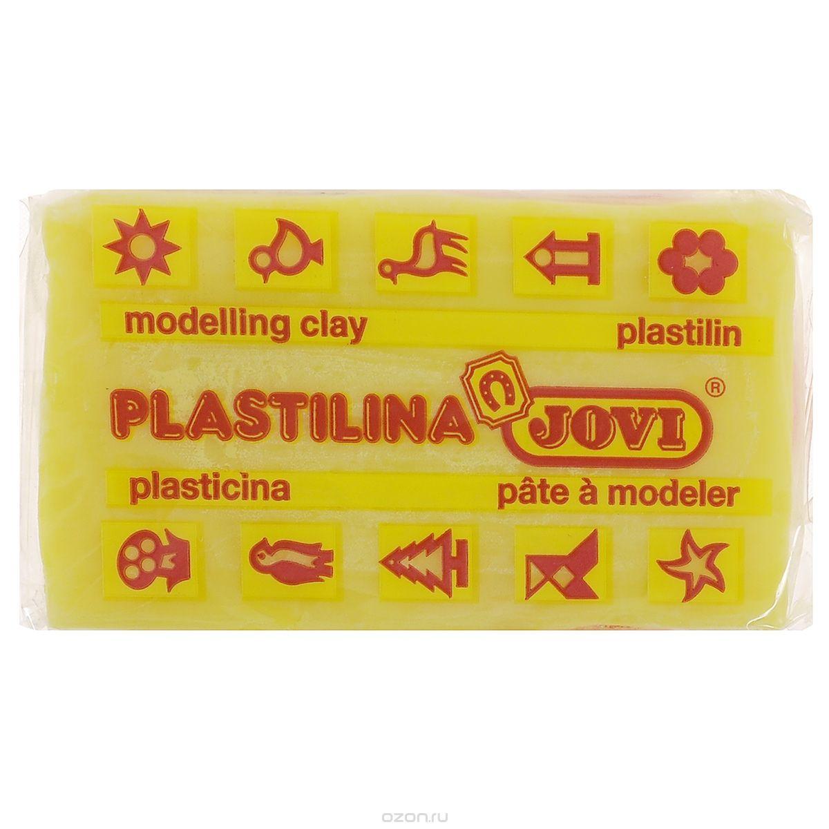 Jovi Пластилин, цвет: светло-желтый, 50 г