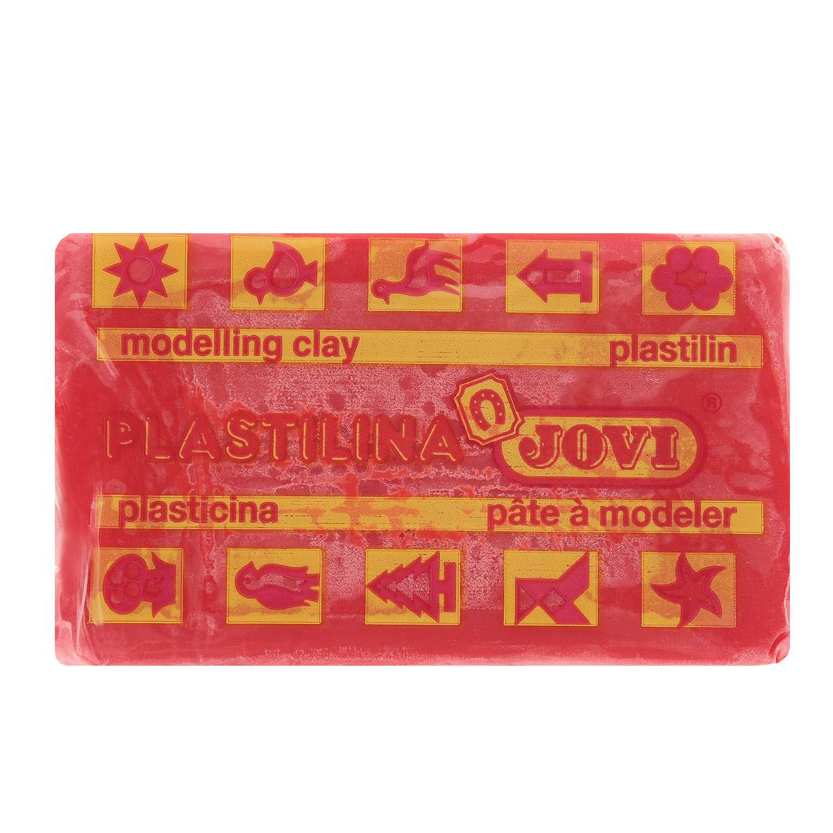 Jovi Пластилин, цвет: красный, 50 г7005U_красныйПластилин Jovi - лучший выбор для лепки, он обладает превосходными изобразительными возможностями и поэтому дает простор воображению и самым смелым творческим замыслам. Пластилин, изготовленный на растительной основе, очень мягкий, легко разминается и смешивается, не пачкает руки и не прилипает к рабочей поверхности. Пластилин пригоден для создания аппликаций и поделок, ручной лепки, моделирования на каркасе, пластилиновой живописи - рисовании пластилином по бумаге, картону, дереву или текстилю. Пластические свойства сохраняются в течение 5 лет.