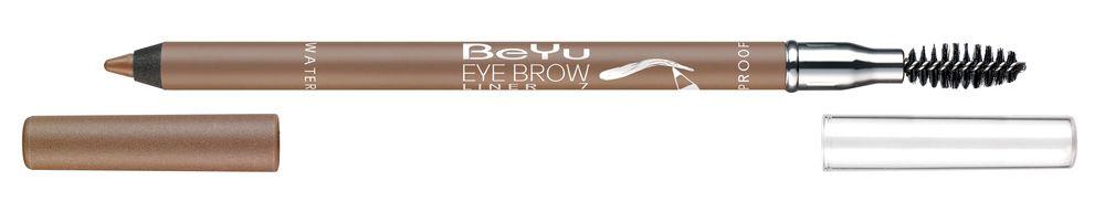 BeYu Карандаш для бровей с щеточкой № 7 светло-коричневый Eyebrow Liner Waterproof , 1г.