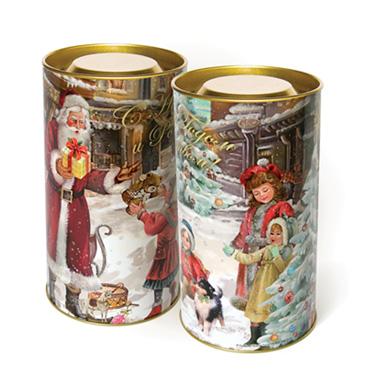 Тубус новогодний На радость детям 7*15 см4610009211237