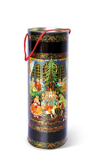 Тубус новогодний Щелкунчик 12*35 см4610009211503