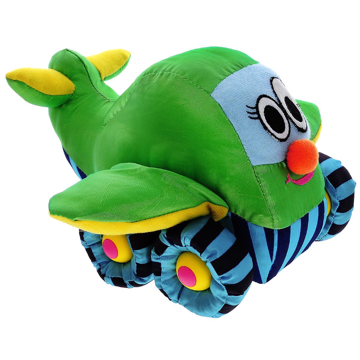 Tongde Мягкая озвученная игрушка СамолетВ72428Мягкая озвученная игрушка Tongde Самолет обязательно понравится вашему малышу. Этот забавный самолет подарит вашему ребенку массу удовольствия за игрой. Изделие выполнено из приятных на ощупь и очень мягких материалов, безвредных для малыша. Движение игрушки сопровождается звуковыми эффектами. С игрушкой можно играть как дома, так и в садике. Данная модель способствует развитию у детей воображения, тактильной чувствительности и мелкой моторики. Ваш ребенок часами будет играть с игрушкой, придумывая различные истории. Порадуйте его таким замечательным подарком! Необходимо купить 3 батарейки типа АА 1,5V (в комплект не входят).