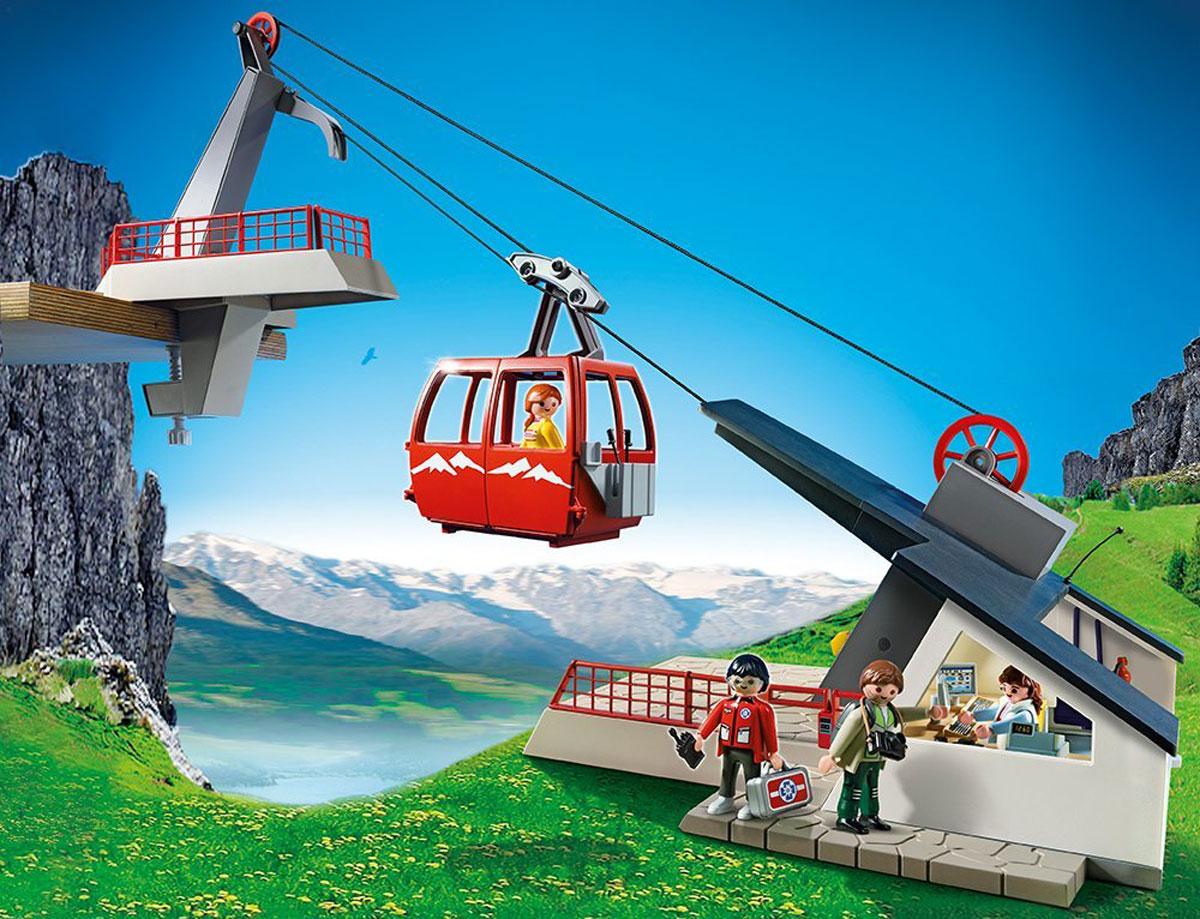Playmobil Игровой набор Фуникулер5426pmИгровой набор Playmobil Фуникулер обязательно понравится вашему ребенку. Он выполнен из безопасного пластика и включает элементы для сборки действующего фуникулера, четыре фигурки людей и аксессуары для игры. С помощью рычага можно поднимать и опускать кабину, а также поднимать туристов на смотровую площадку. Оператор фуникулера находится в командном центре, оборудованном компьютером и кассой. У фигурок подвижные части тела; в руках они могут удерживать предметы. Ваш ребенок с удовольствием будет играть с набором, придумывая захватывающие истории. Рекомендуемый возраст: от 6 до 12 лет.