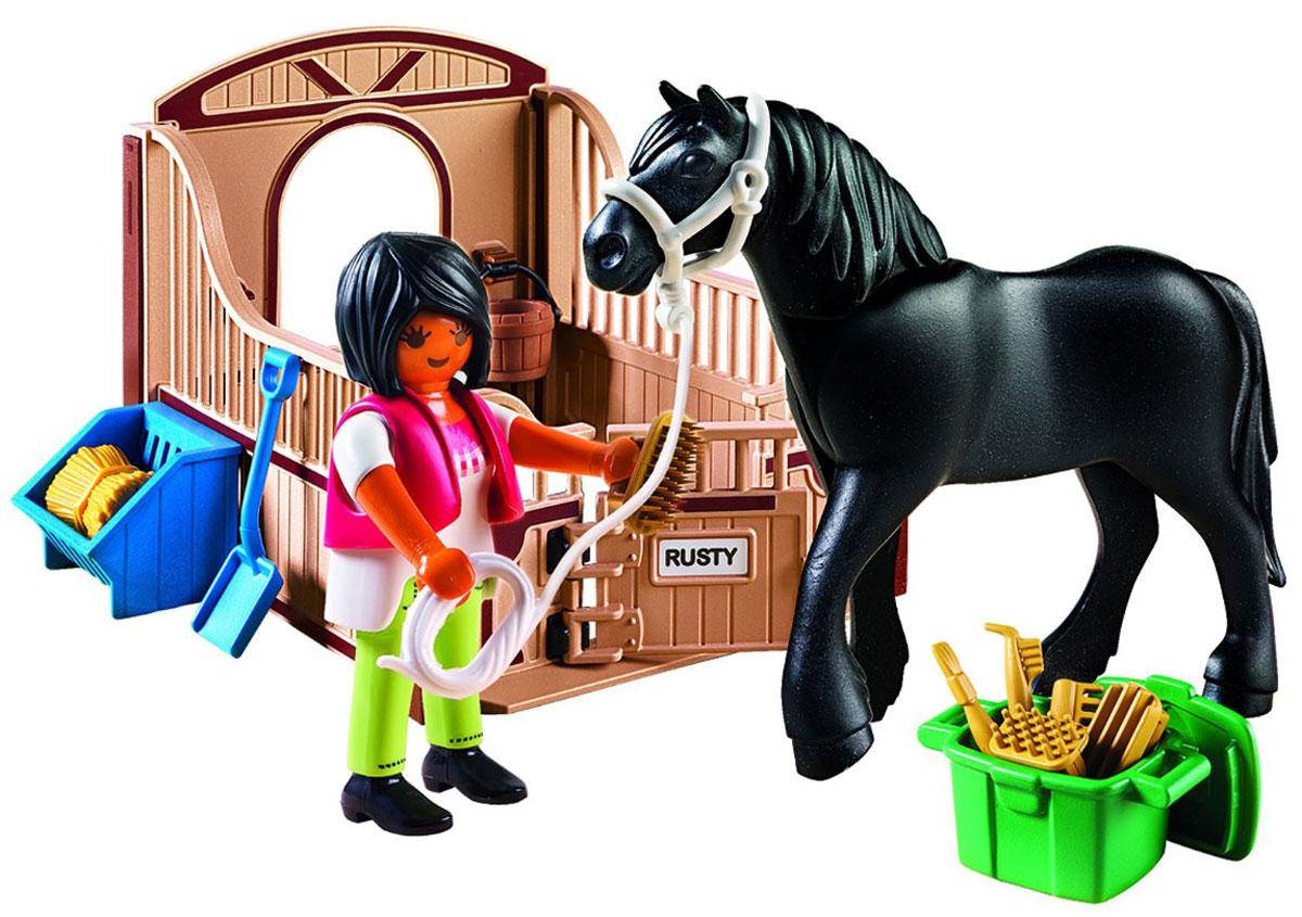 Лошадка красная  Детские игровые аппараты игровые