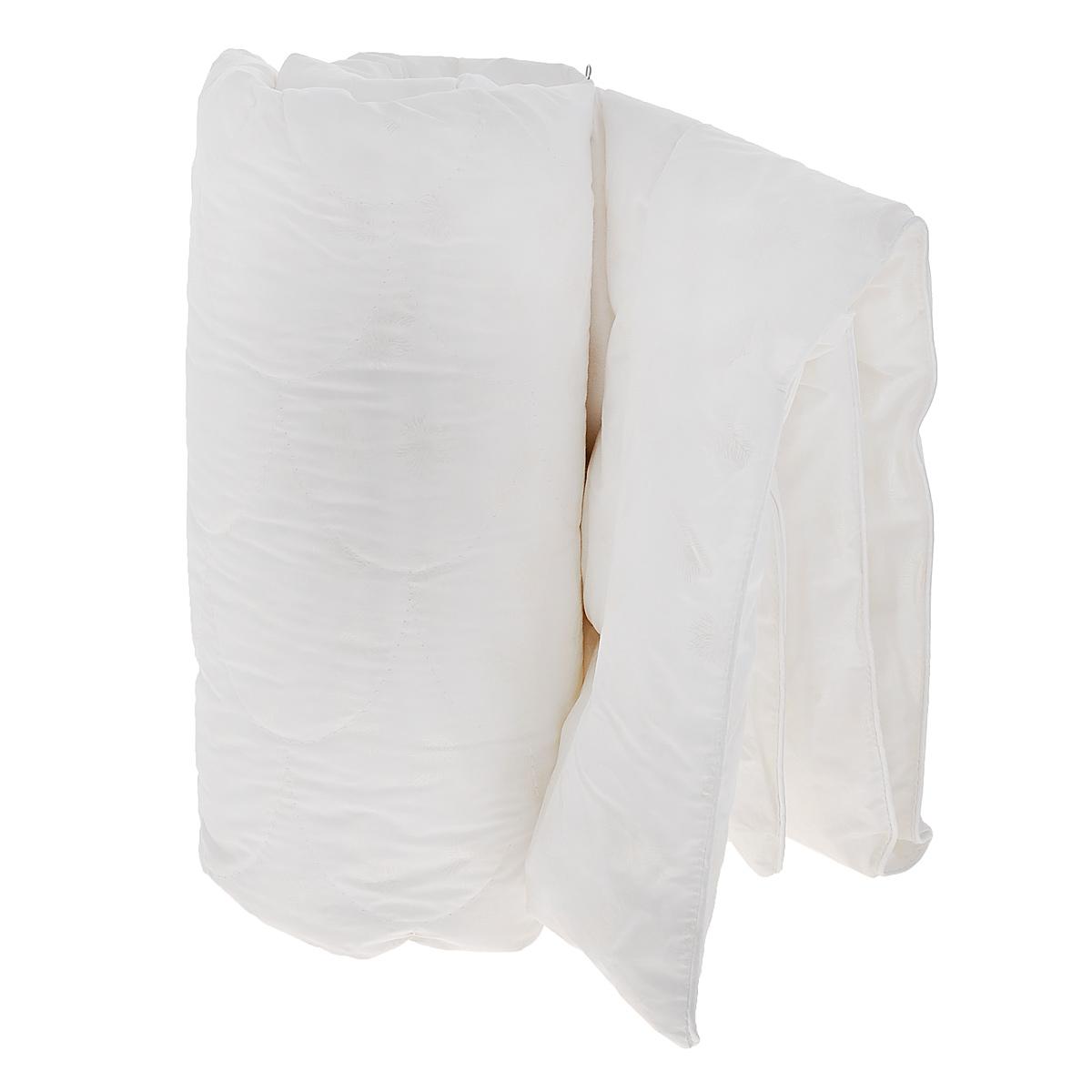 Одеяло детское Облачко, наполнитель: искусственный лебяжий пух, 110 см х 140 см156969Одеяло Облачко подарит комфортный сон вашему малышу. Чехол изготовлен из 100% хлопка, наполнитель - искусственный лебяжий пух. Мягкий и необычайно легкий наполнитель обеспечит оптимальную терморегуляцию пододеяльного пространства, а плотная и легкая дышащая ткань создаст условия, исключающие парниковый эффект и перегрев ребенка во время сна. Искусственный пух не вызывает аллергию и раздражение кожи малыша. Сложная фигурная стежка одеяла обеспечивает возможность его стирки столько раз, сколько это будет необходимо. Материал чехла: 100% хлопок. Материал наполнителя: искусственный лебяжий пух.