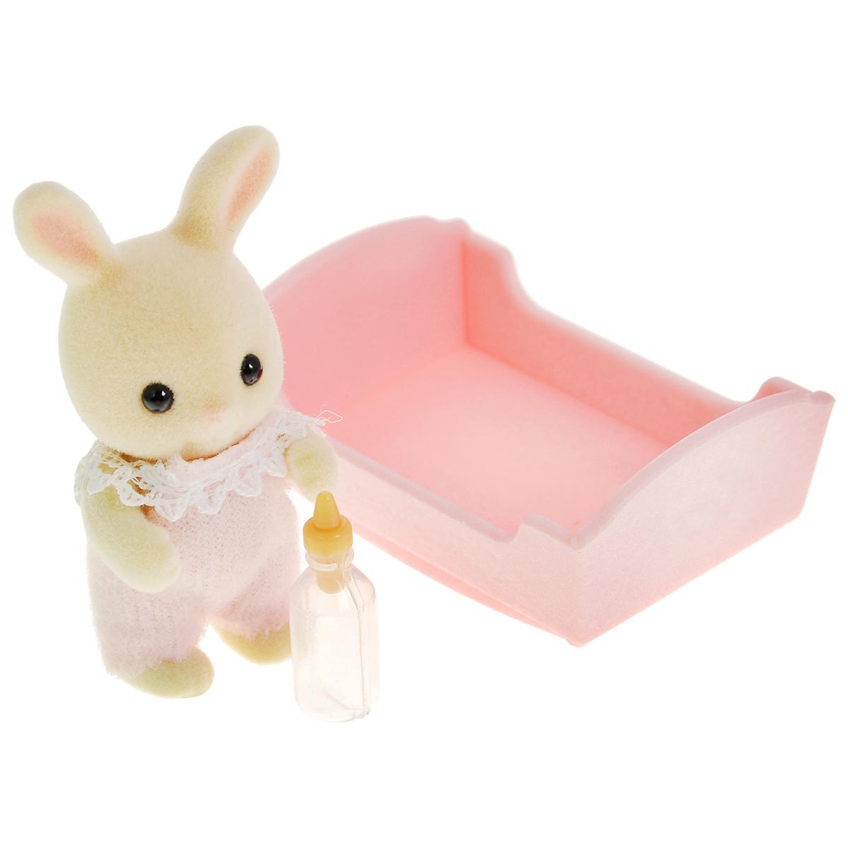 """Sylvanian Families Игровой набор """"Малыш молочный кролик"""" 3418_8718637034180"""