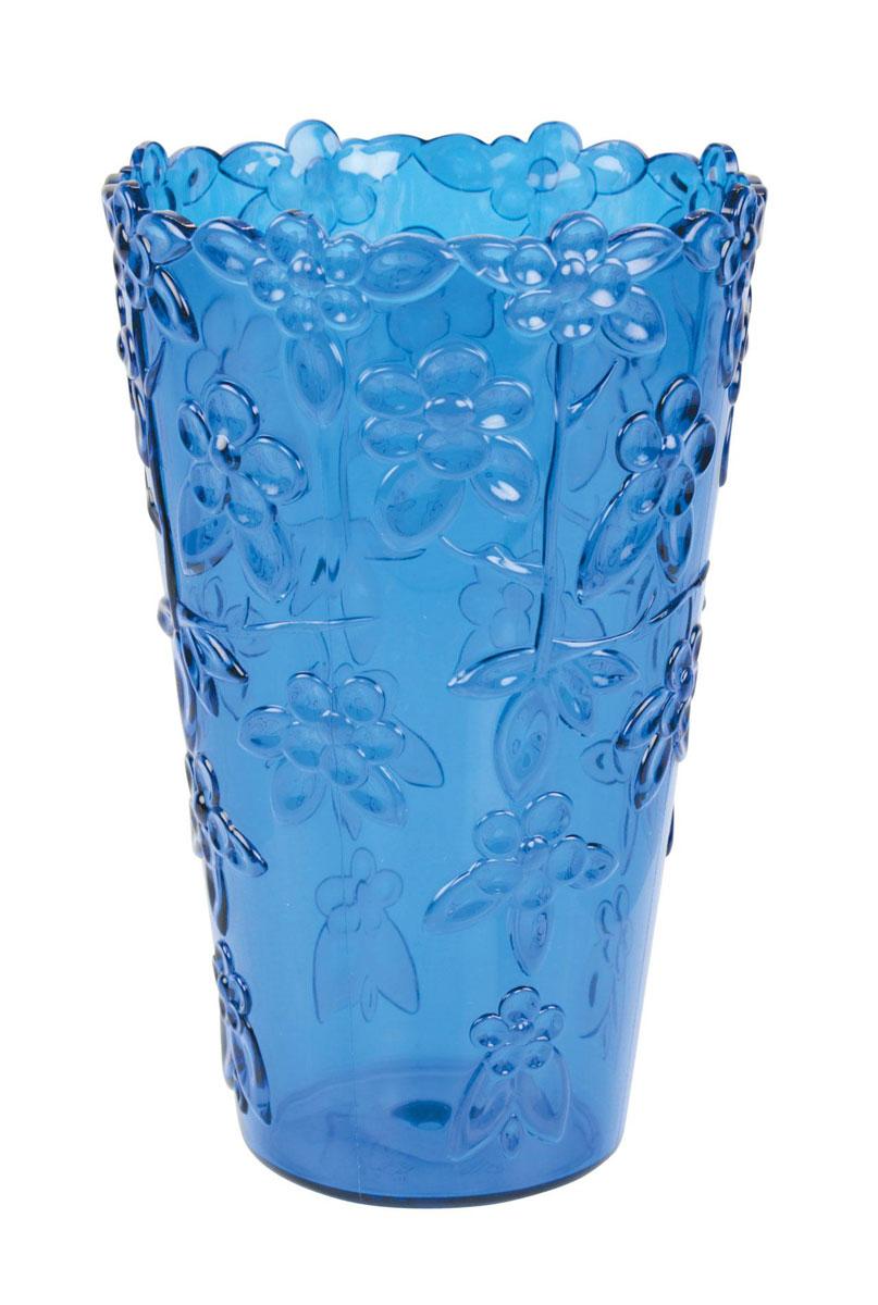 Синие вазы для цветов фото
