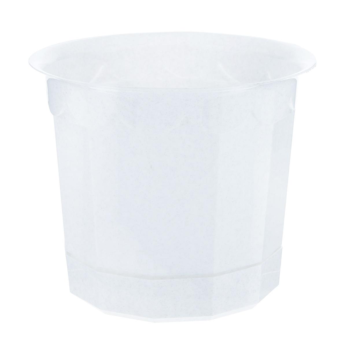 Горшок для цветов Полимербыт, с поддоном, диаметр 20 смС166Горшок для цветов Полимербыт изготовлен из прочного пластика с расцветкой под мрамор. Снабжен поддоном для стока воды. Изделие прекрасно подходит для выращивания растений и цветов в домашних условиях.