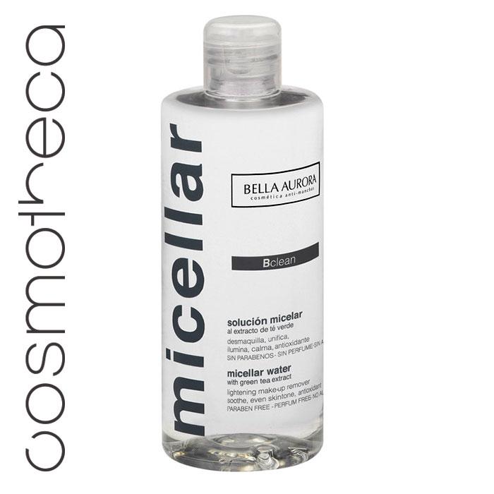 Bella Aurora Мицелярная вода 250 млBA4098400Очищает, осветляет, делает кожу яркой, не требует смывания. Содержащиеся в растворе мицеллы полностью удаляют все загрязнения и макияж с лица, губ и кожи возле глаз.