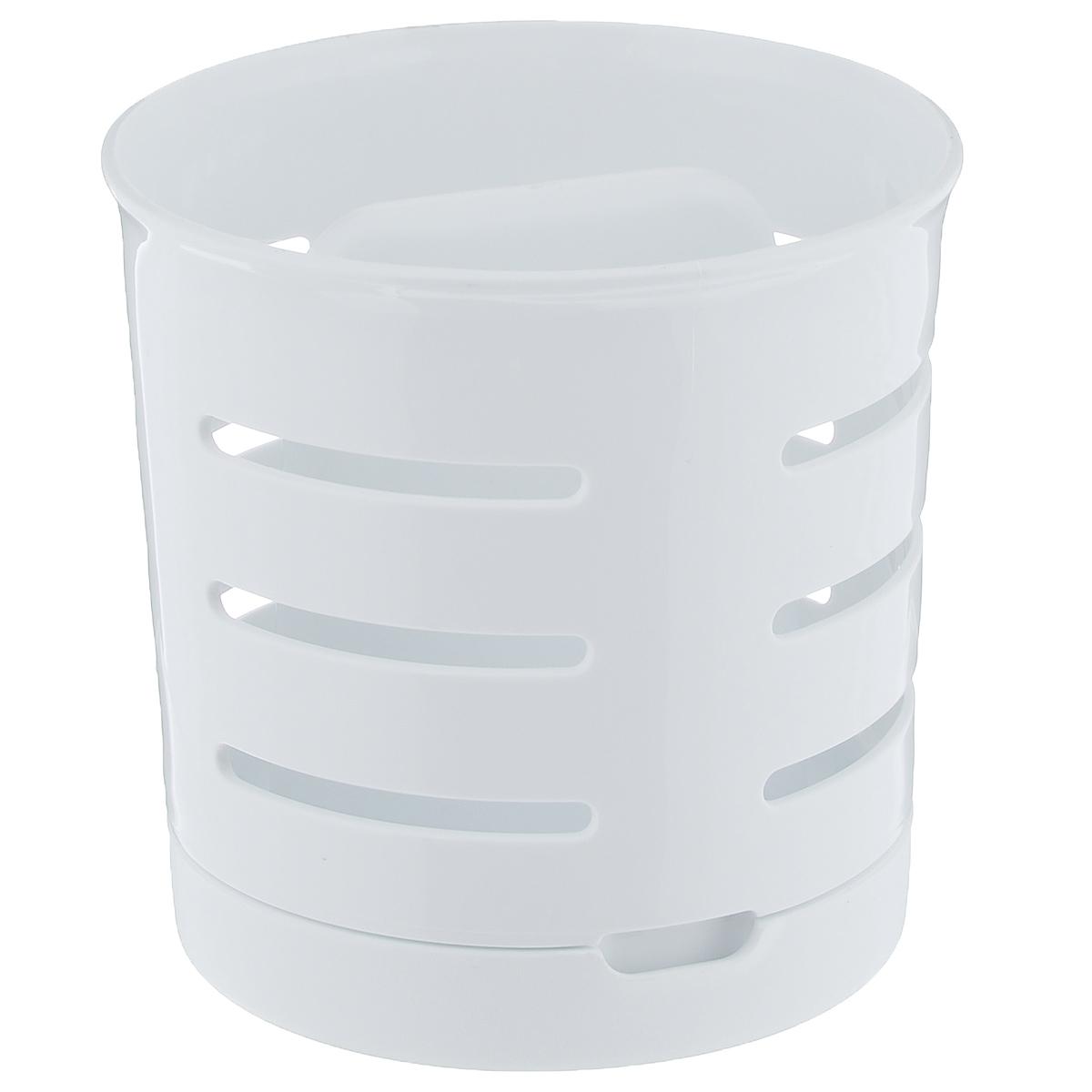 Сушилка для столовых приборов Curver3410Сушилка для столовых приборов Curver изготовлена из прочного пластика. Стенки изделия оформлены перфорацией. Сушилка снабжена поддоном, куда стекает вода. Изделие идеально подходит для хранения столовых приборов.