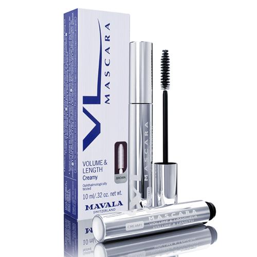 Mavala Тушь кремовая Объем, Длина и Восстановление Коричневая 10 мл Mascara VL Creamy Brown