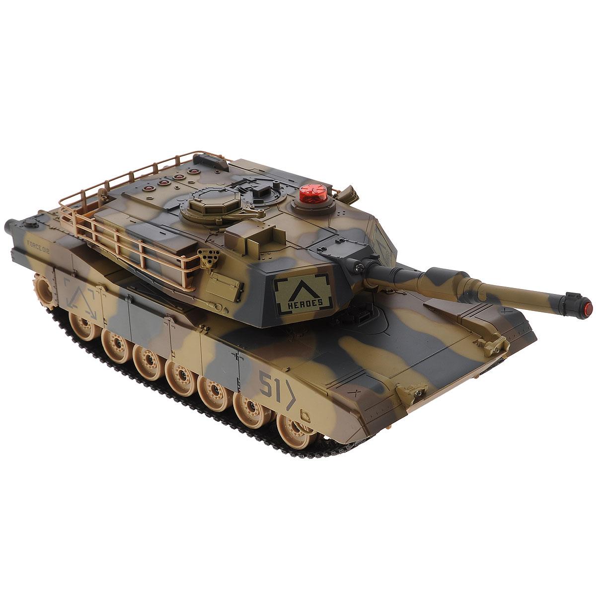 ABtoys Танк на радиоуправлении C-00111C-00111(549)Все дети хотят иметь в наборе своих игрушек ослепительные, невероятные и крутые танки на радиоуправлении. Тем более если это танк с мировым именем, с проработкой всех деталей, удивляющий приятным качеством и видом. Купить танковый бой своему малышу - значит вовлечь его в мир взрослых, где нет времени на бесполезные игрушки.
