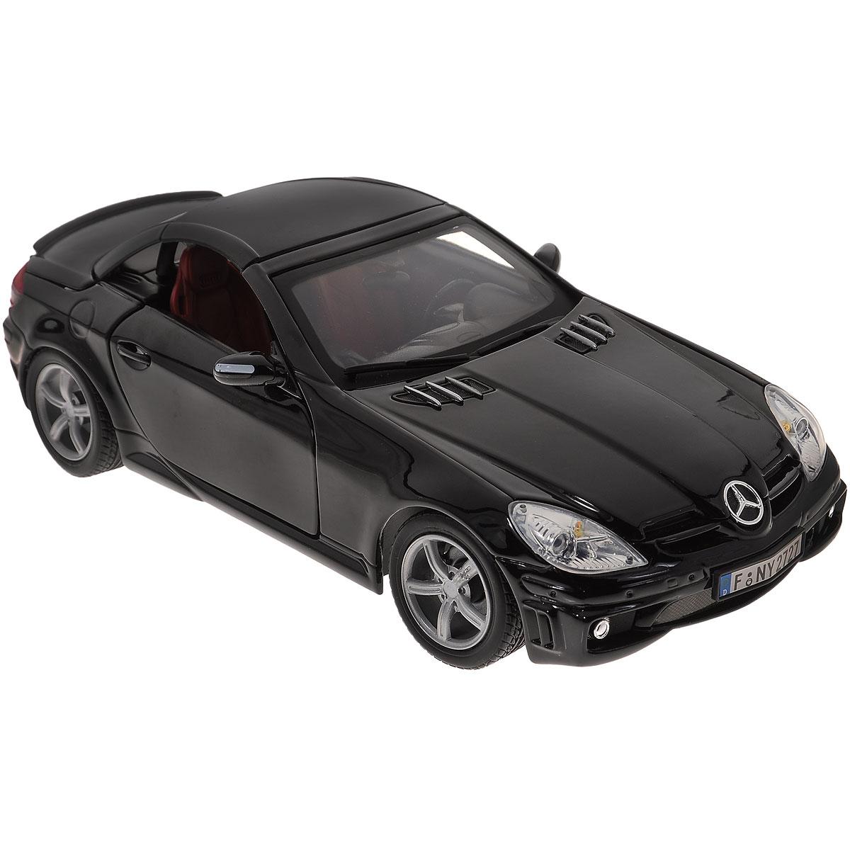 Autotime Модель автомобиля Mercedes Benz SLK55 АMG цвет черный
