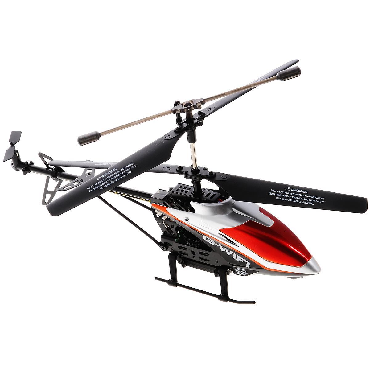 1TOY Вертолет на радиоуправлении Gyro Wi-Fi