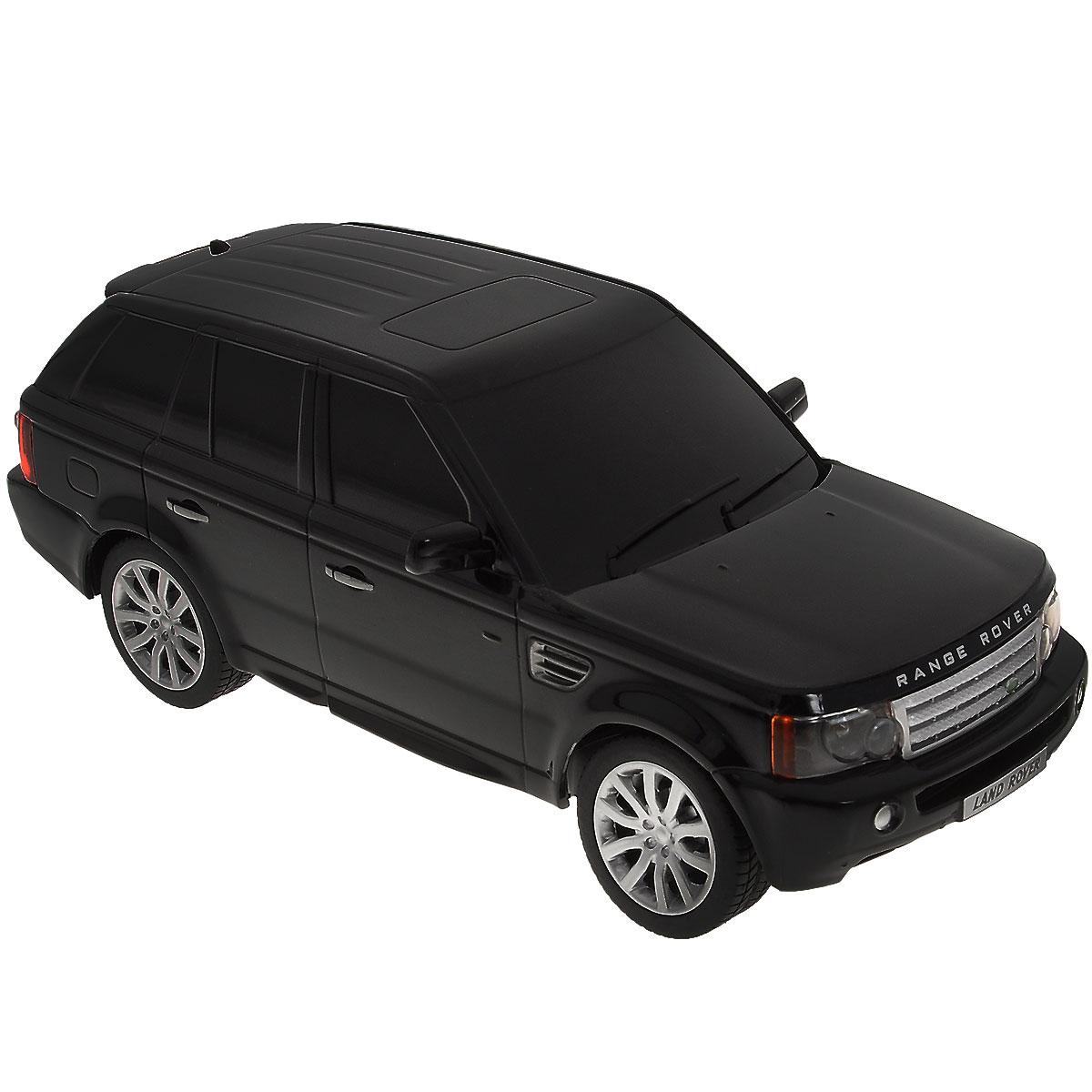 Rastar Радиоуправляемая модель Range Rover Sport цвет черный масштаб 1:2430300