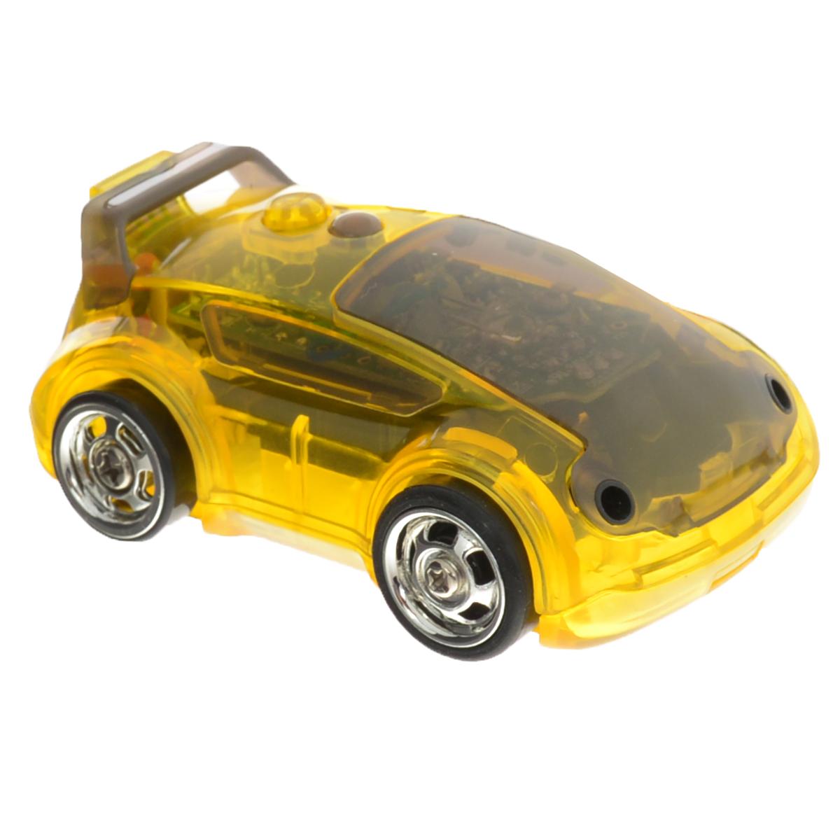 DeskPets Машина-микроробот на радиоуправлении Карбот цвет желтый