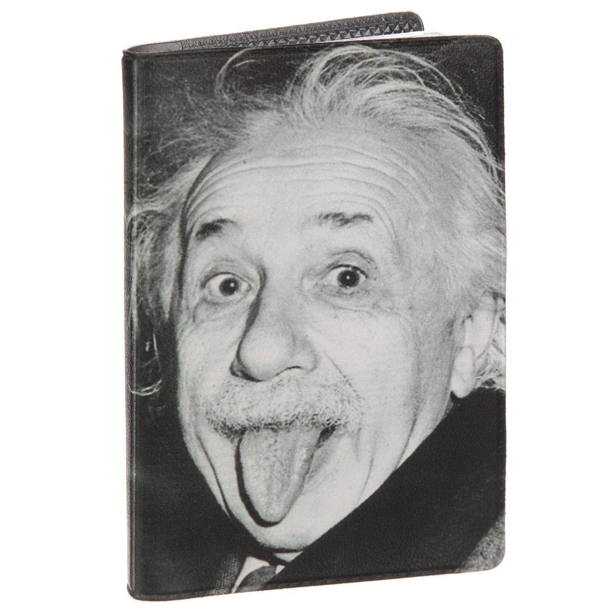 Визитница Эйнштейн. VIZAM295VIZAM295Стильная визитница Mitya Veselkov Эйнштейн выполнена из поливинилхлорида. Изделие оформлено художественной печатью с изображением ученого. Внутри размещены два пластиковых кармана и вкладыш на восемнадцать кармашков. Яркая визитница Mitya Veselkov Эйнштейн не только поможет сохранить внешний вид ваших визиток, а также станет стильным аксессуаром, идеально подходящим к вашему образу.