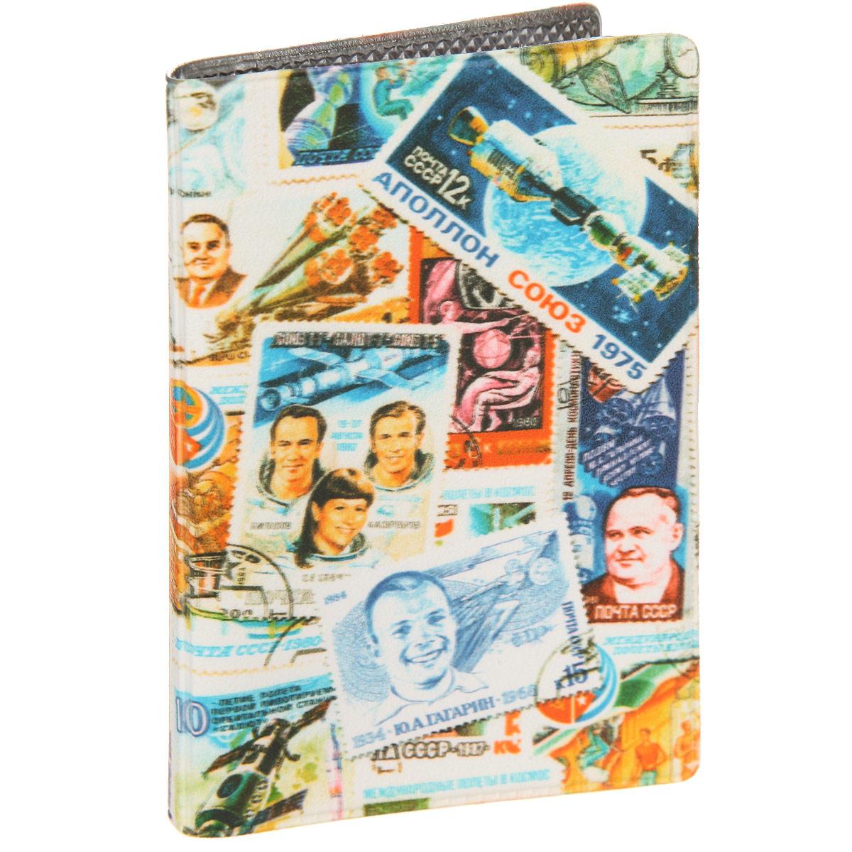 Визитница Космос (марки). VIZAM195VIZAM195Стильная визитница Mitya Veselkov Космос выполнена из поливинилхлорида. Изделие оформлено художественной печатью с изображением марок. Внутри размещены два пластиковых кармана и вкладыш на восемнадцать кармашков. Яркая визитница Mitya Veselkov Космос не только поможет сохранить внешний вид ваших визиток, а также станет стильным аксессуаром, идеально подходящим к вашему образу.